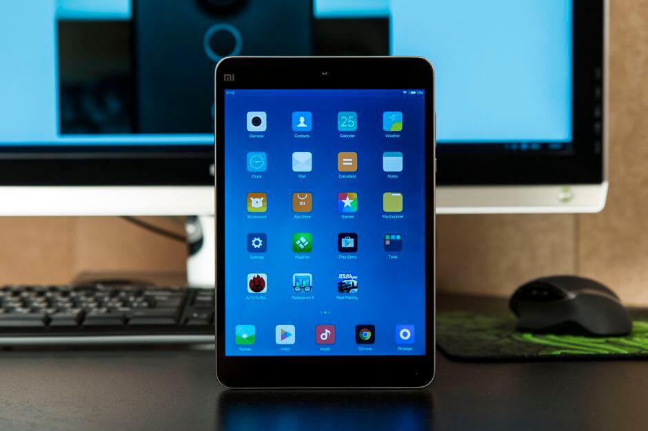 внешний вид Xiaomi Mi Pad 2