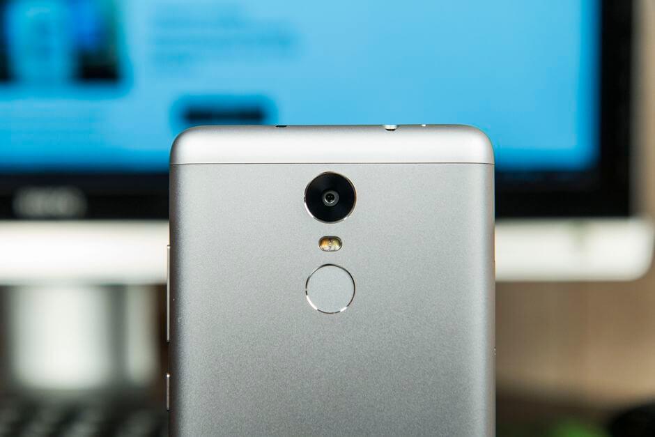 сканер отпечатков пальцев Xiaomi Redmi Note 3 Pro