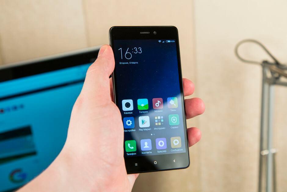 дизайн Xiaomi Redmi 3