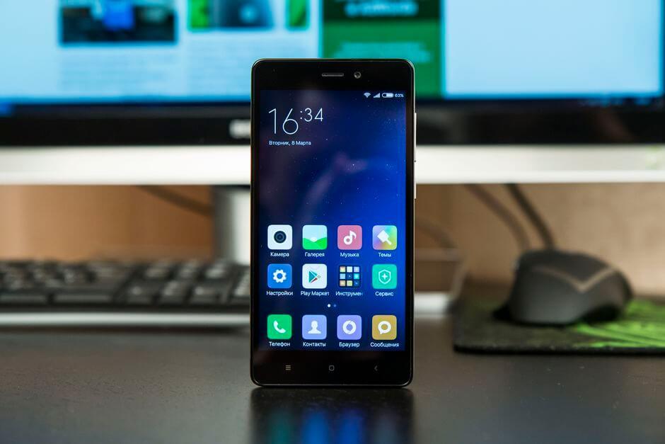 экран Xiaomi Redmi 3