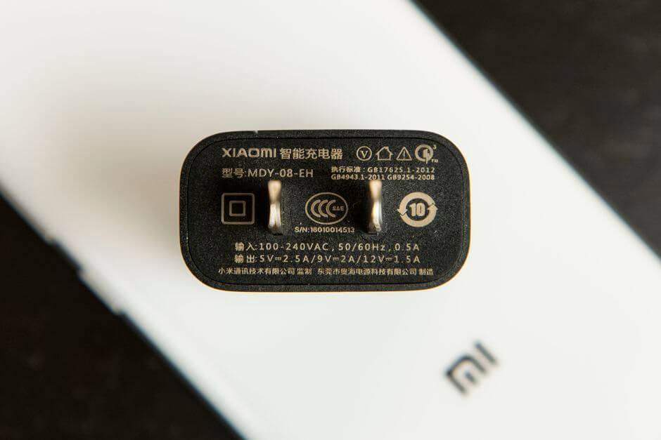 адаптер питания для Quick Charge 3.0 в Xiaomi Mi5