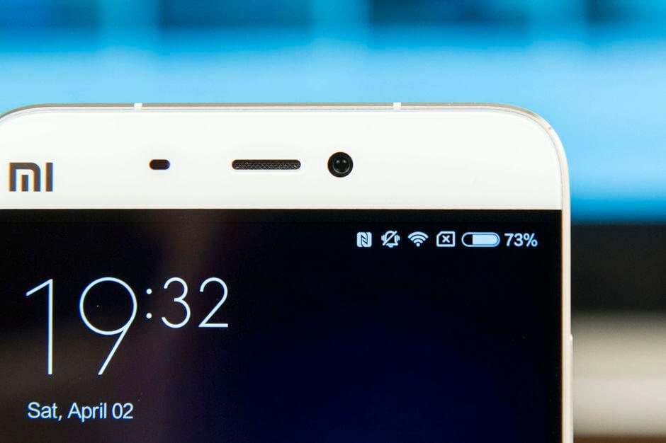 фронтальная камера Xiaomi Mi5