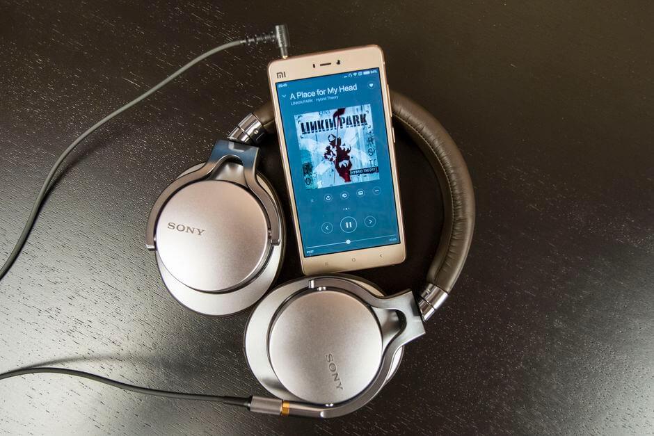 качество звука в наушниках Xiaomi Mi4s