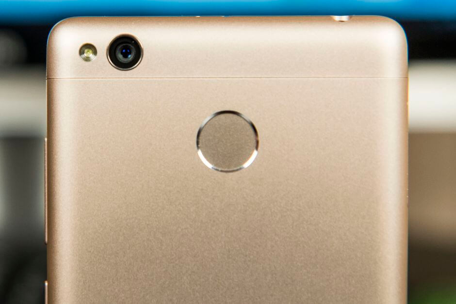 сканер отпечатков пальцев Xiaomi Redmi 3 Pro
