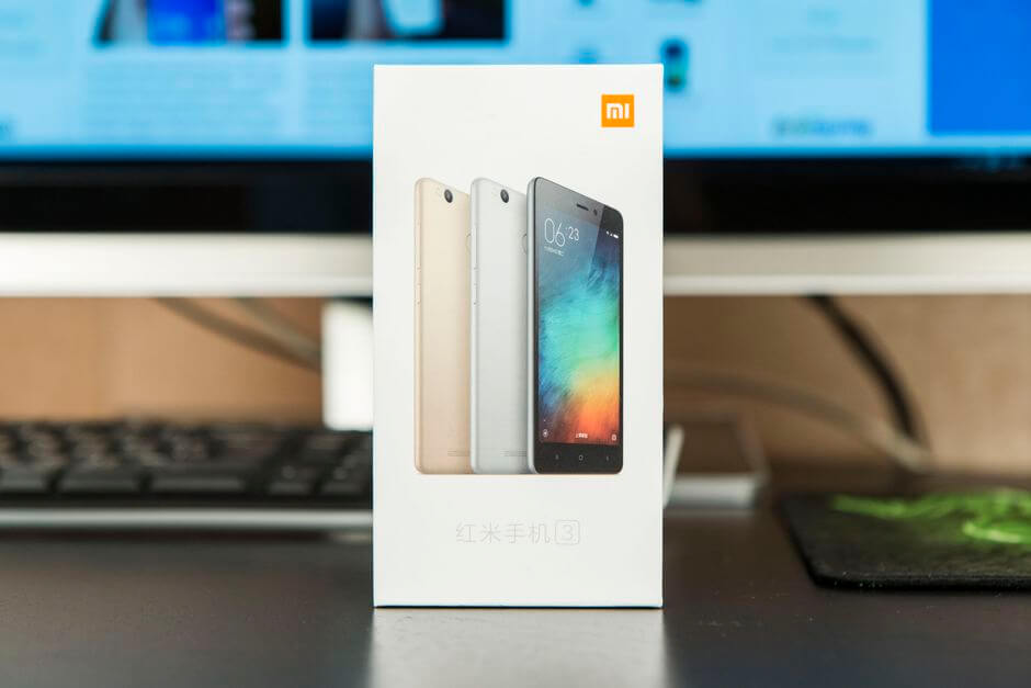 упаковка Xiaomi Redmi 3 Pro