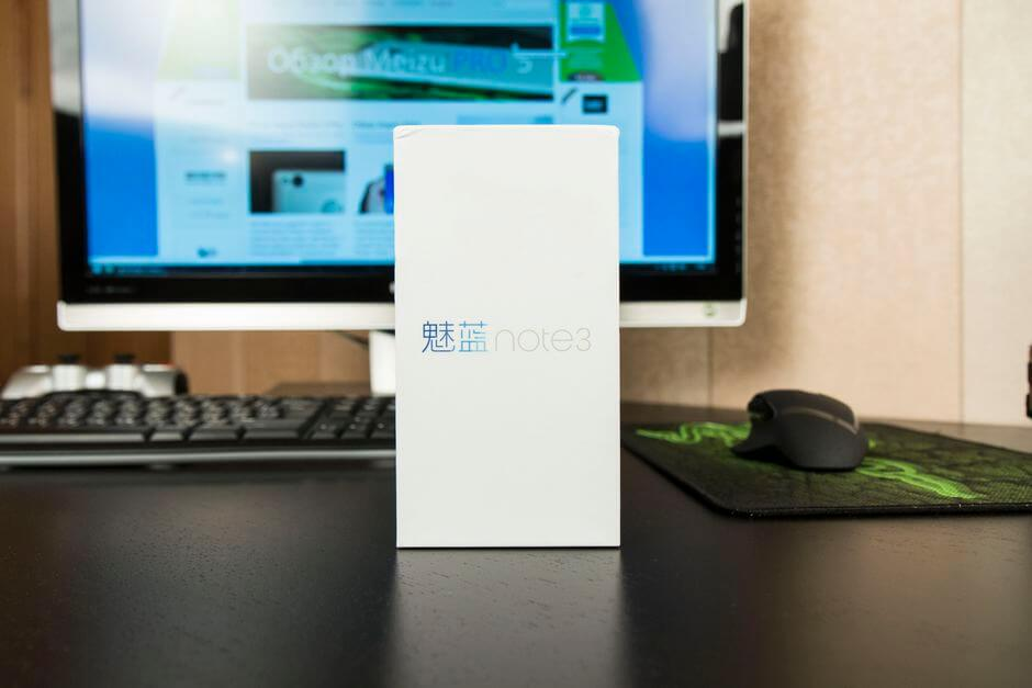 коробка Meizu M3 Note