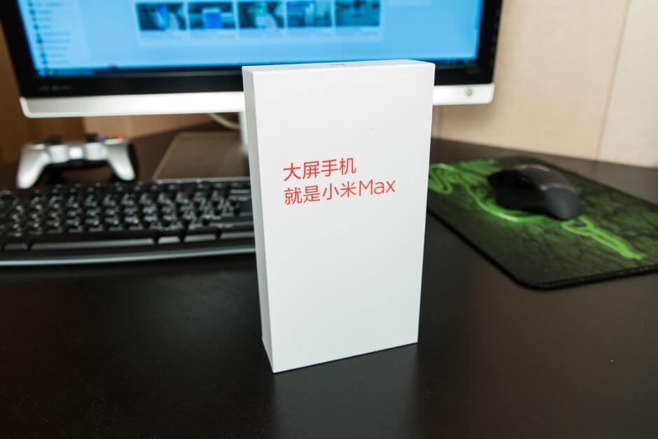 упаковка Xiaomi Mi Max