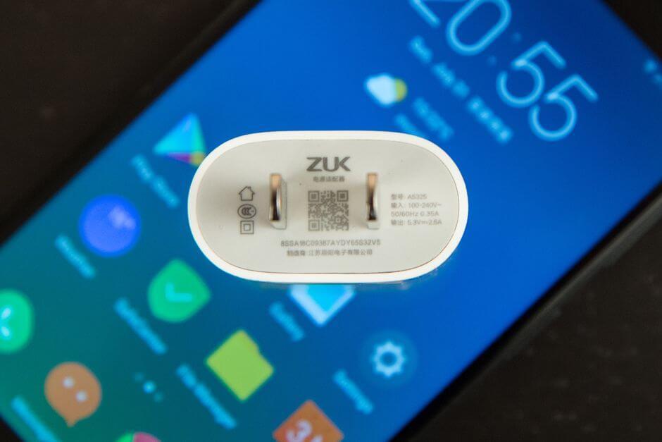 адаптер питания для ZUK Z2