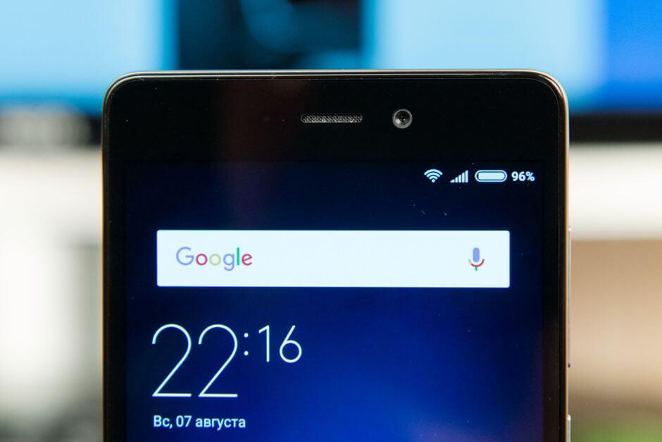 передняя камера Xiaomi Redmi 3s