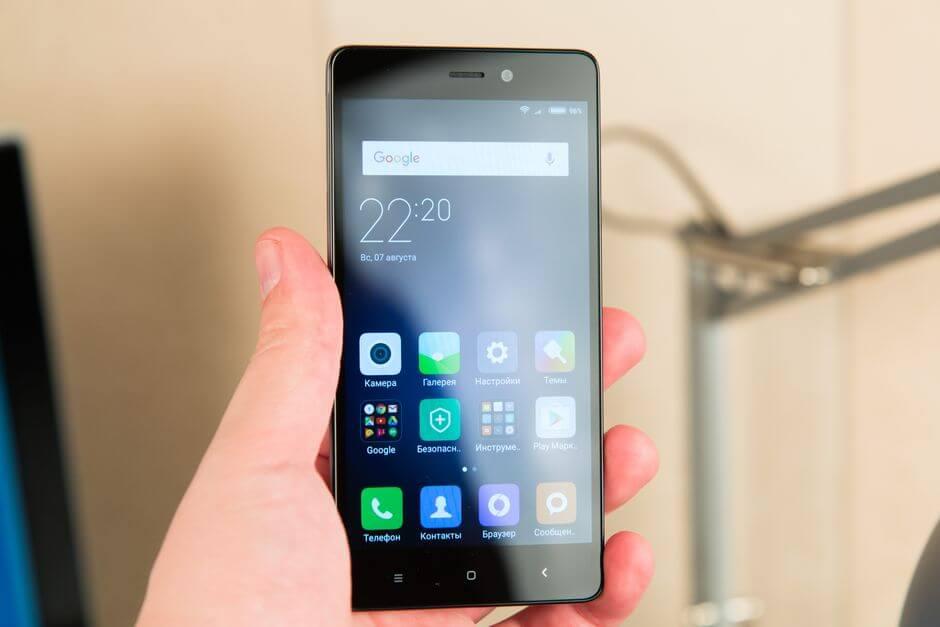 Обзор Xiaomi Redmi 3s, сравнение с Redmi 3 и Redmi 3 Pro