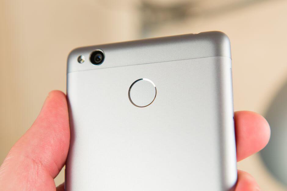 сканер отпечатков пальцев Xiaomi Redmi 3s
