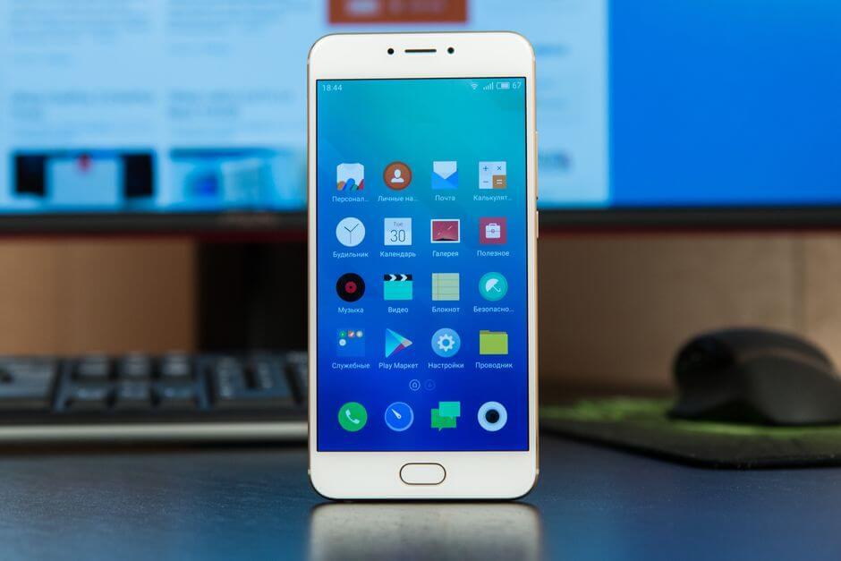 экран Meizu MX6