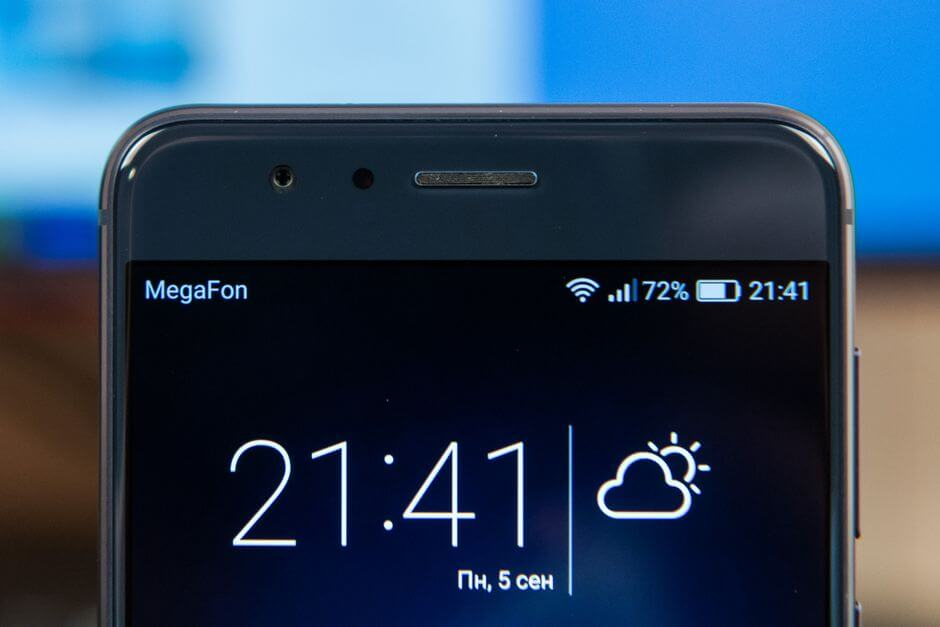 фронтальная камера Huawei Honor 8