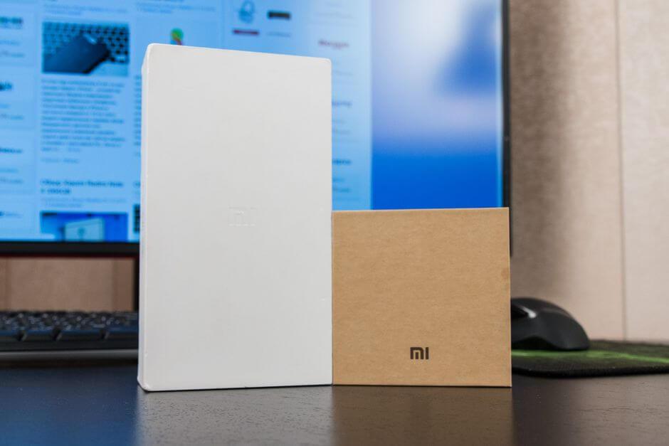 упаковка Xiaomi Mi 5s