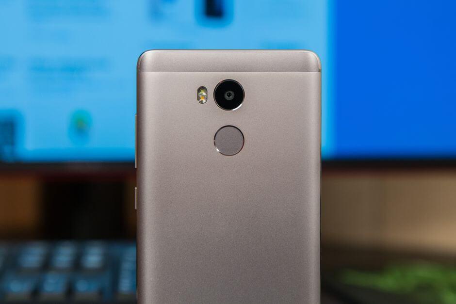 сканер отпечатков пальцев Xiaomi Redmi 4