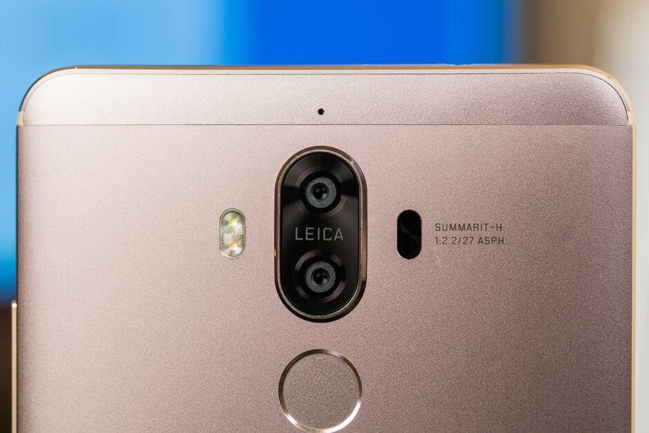 основной блок камер в Huawei Mate 9
