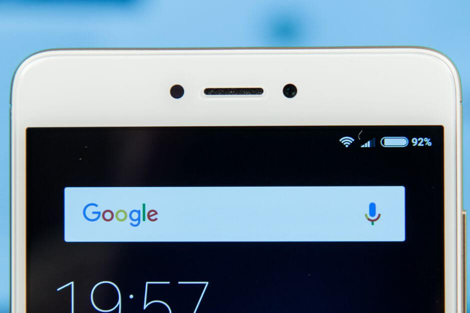 фронтальная камера Xiaomi Redmi Note 4X