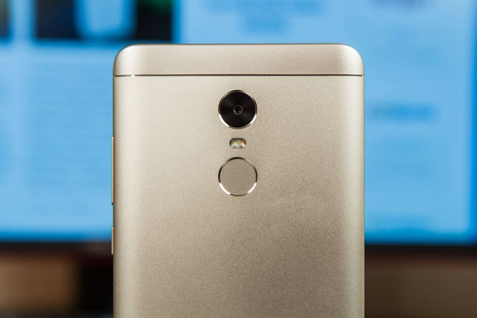 сканер отпечатков пальцев Xiaomi Redmi Note 4X