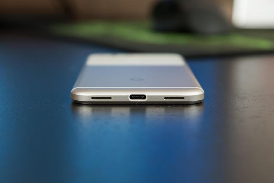 разъем USB type C в Google Pixel