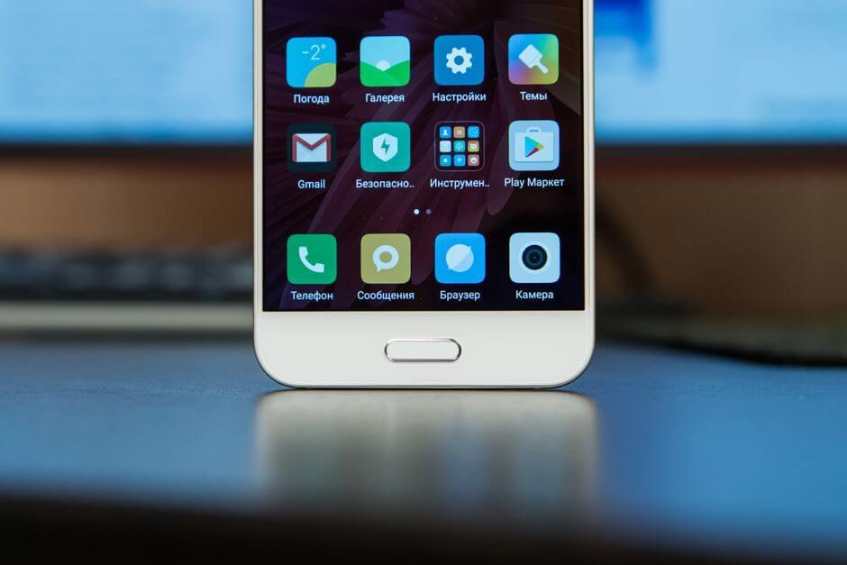 сканер отпечатков пальцев Xiaomi Mi 5c