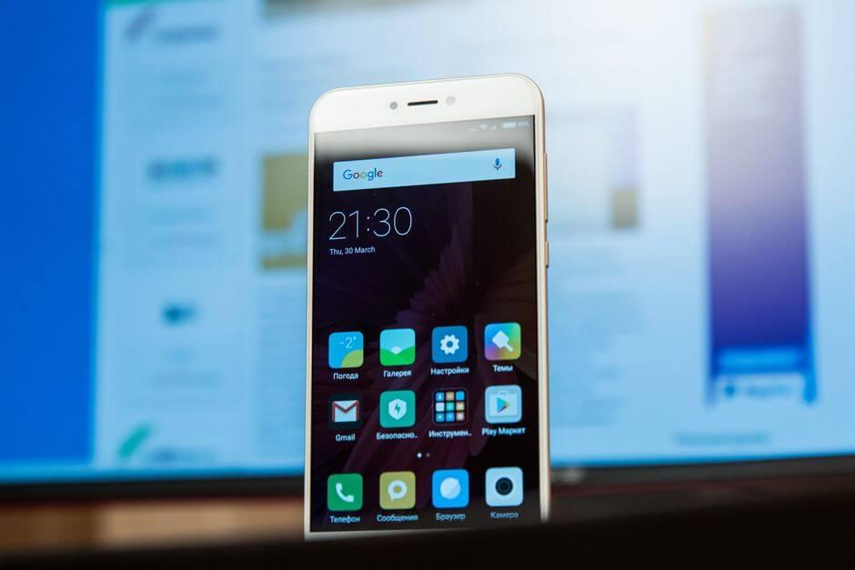 дизайн Xiaomi Mi 5c