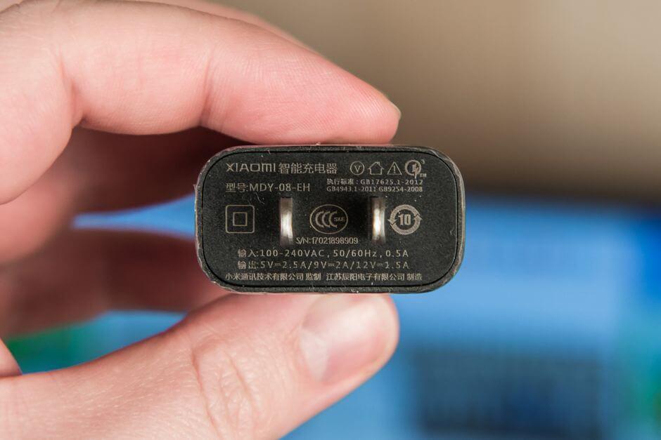 комплектное зарядное устройство Xiaomi Mi 5c