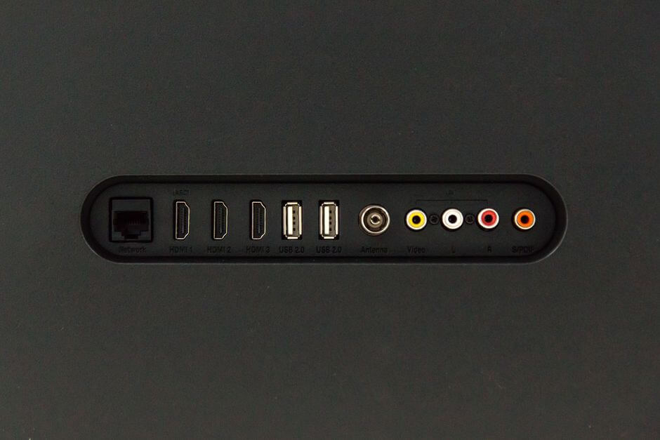 разъемы телевизора Xiaomi Mi TV 4A