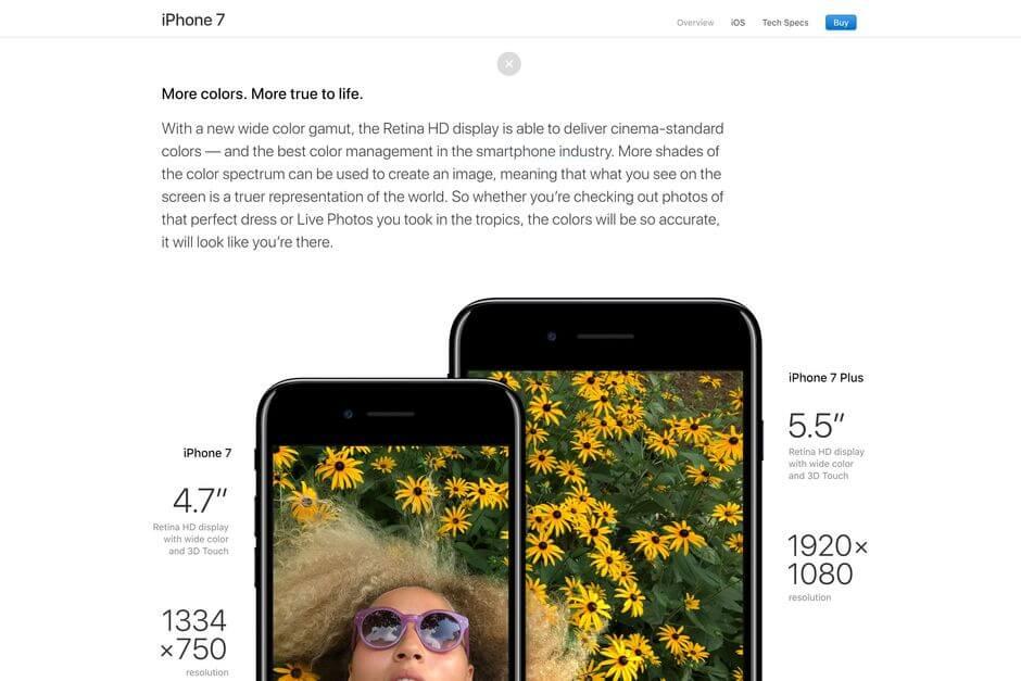 менеджмент цветовых профилей в iOS