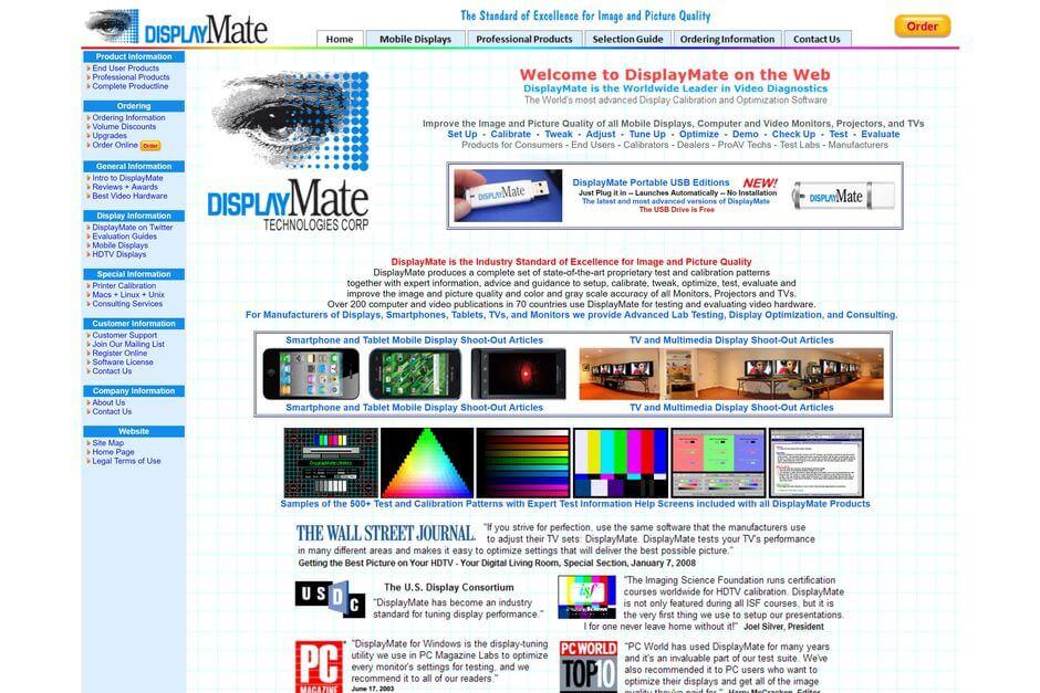 displaymate.com