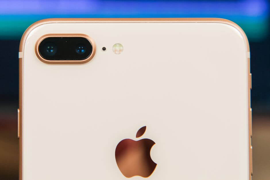 основной блок камер Apple iPhone 8 Plus