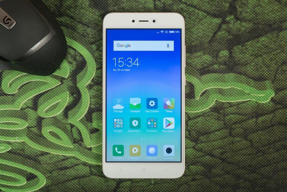 подробный обзор Xiaomi Redmi Note 5A