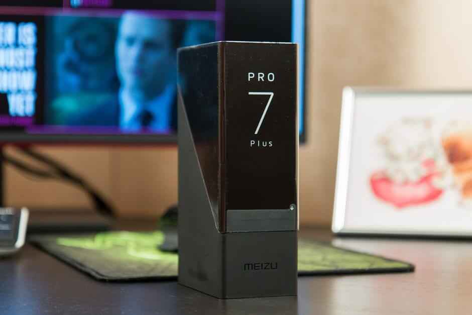 упаковка Meizu PRO 7 Plus