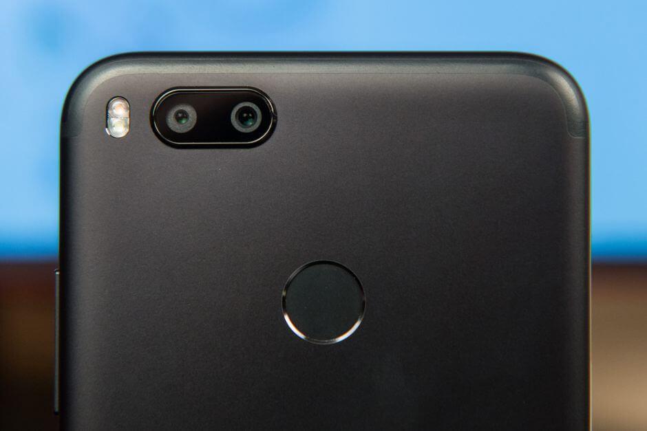 блок основных камер Xiaomi Mi A1