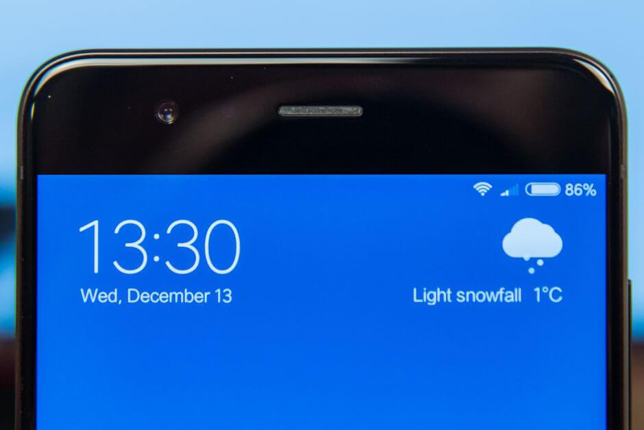 фронтальная камера Xiaomi Mi Note 3