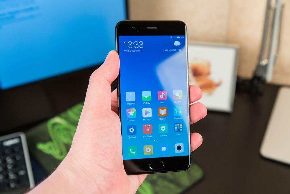 дизайн Xiaomi Mi Note 3