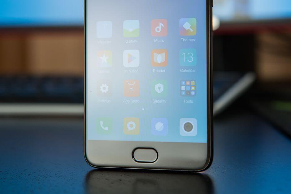 дактилоскопический сканер Xiaomi Mi Note 3