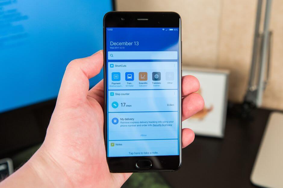 App vault в прошивке Xiaomi Mi Note 3