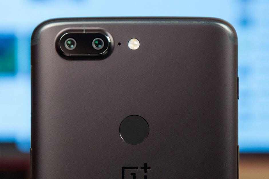 блок основной камеры OnePlus 5T