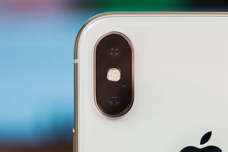 блок основных камер Apple iPhone X