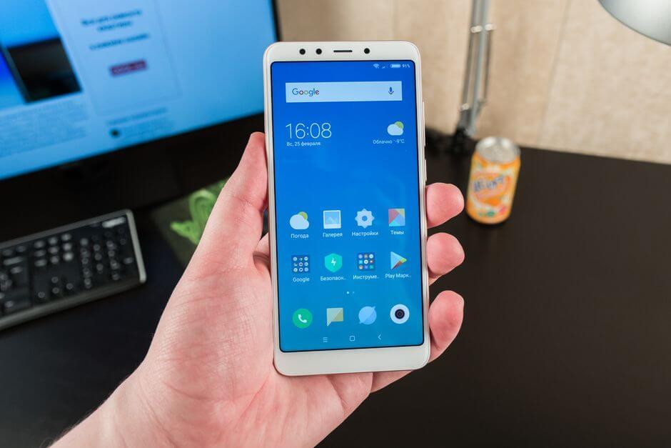 дизайн Xiaomi Redmi 5